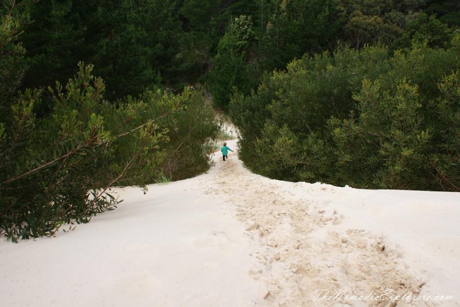Australia, Tasmania, West Coast, Tasmania, Day 4. Henty Dunes near Strahan., ,