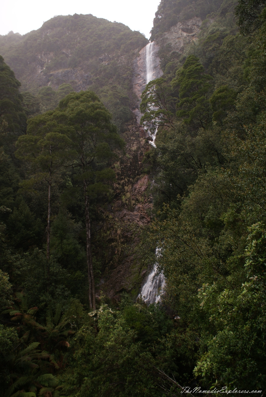 Australia, Tasmania, West Coast, Tasmania, Day 5. Walk to Montezuma Falls near Rosebery, ,