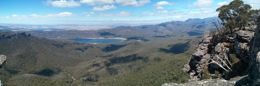 Australia, Victoria, Grampians, The Grampians: Mt Rosea Hike, ,