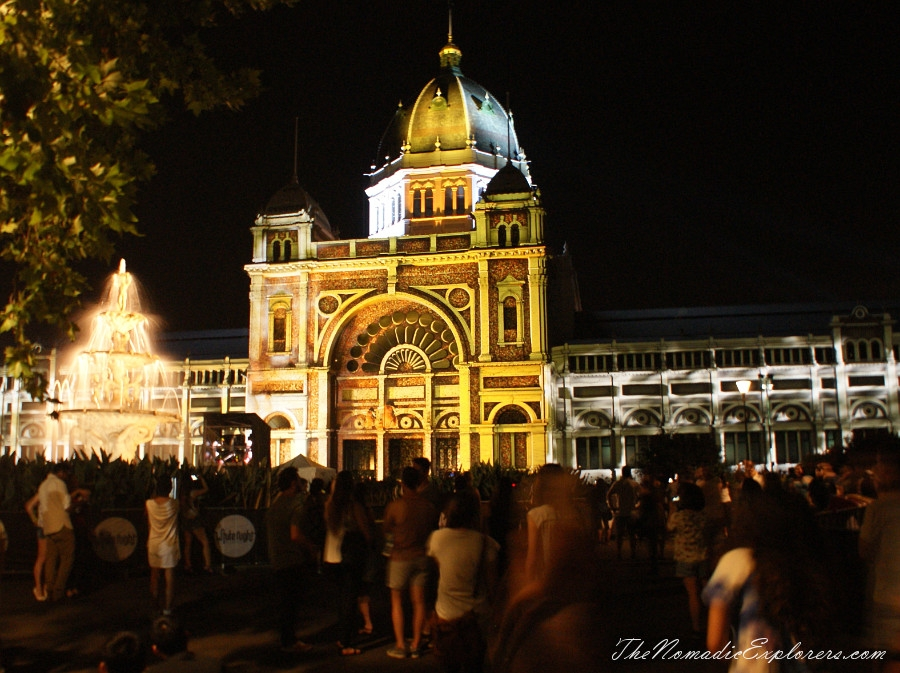 Australia, Victoria, Melbourne, White Night Melbourne 2015, ,