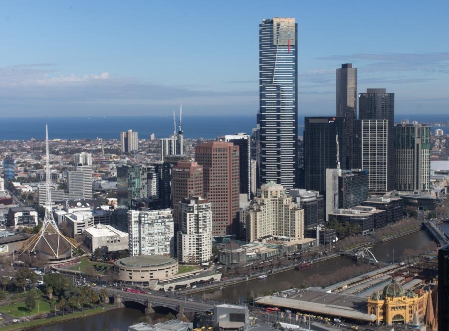 Australia, Victoria, Melbourne, Visit to Eureka Skydeck 88, ,