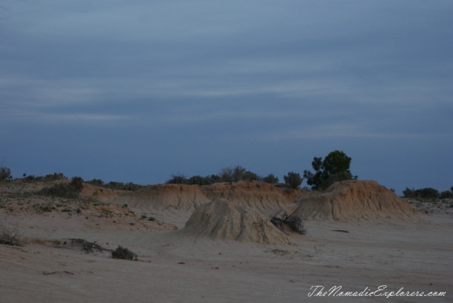 Australia, New South Wales, Country NSW, Balranald Area, A day in Mungo National Park, ,