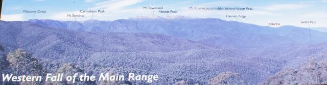 Australia, New South Wales, Snowy Mountains, Из Jindabyne в Melbourne по Alpine Way. Scamell's Lookout, SnowyHydro, Australia, New South Wales, Snowy Mountains, Из Jindabyne в Melbourne по Alpine Way. Scamell's Lookout, SnowyHydro
