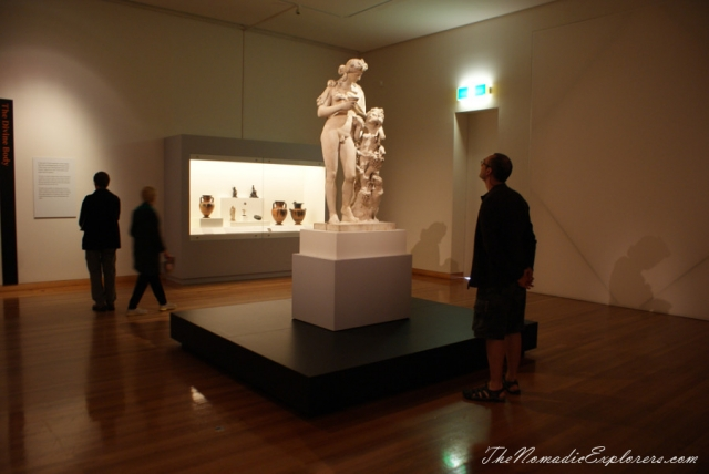 "Australia, Victoria, Goldfields, Bendigo, A day in ""my"" life (in pictures) in Bendigo: The Body Beautiful exhibition, Bendigo Pottery, short walk, ,"