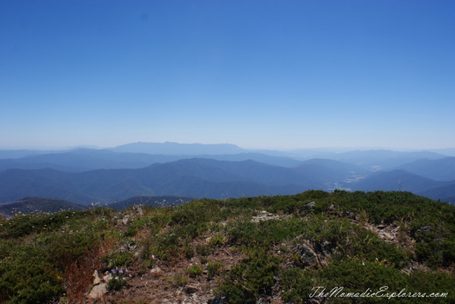 Australia, Victoria, Hight Country, The Australian Alps: Mt Feathertop via The Razorback, ,