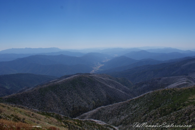 View from Mount Feathertop, Victoria