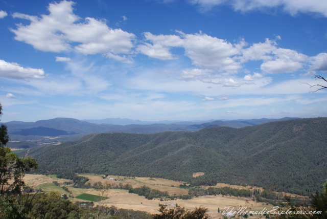 Australia, Victoria, Hight Country, Australia Day 2014: Melbourne - Great Alpine Road - Bogong High Plains Road - Melbourne trip, ,