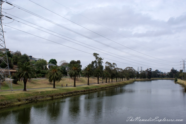 Australia, Victoria, Melbourne, Maribyrnong River Trail, ,