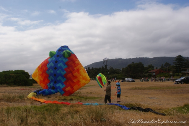 Australia, Victoria, Melbourne, Mornington Peninsula, The Rosebud Kite Festival, ,