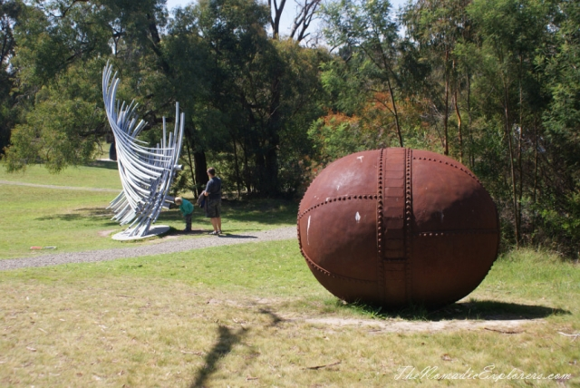 Australia, Victoria, Mornington Peninsula, McClelland Sculpture Park and Gallery , Australia, Victoria, Mornington Peninsula, McClelland Sculpture Park and Gallery