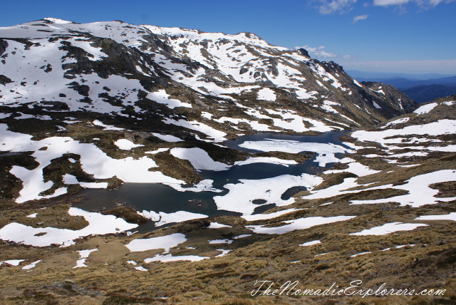 Australia, New South Wales, Snowy Mountains, Горы в Австралии - Гора Костюшко (Mt Kosciuszko - Main Range Walk – Charlotte Pass to Mount Kosciuszko), ,