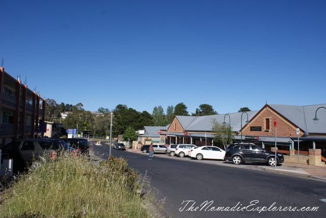 Australia, New South Wales, Snowy Mountains, Jindabyne. Прогулки по городу и вокруг озера., ,