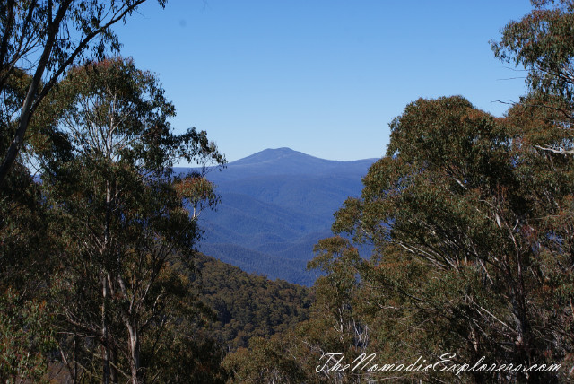 Australia, New South Wales, Snowy Mountains, Из Jindabyne в Melbourne по Alpine Way. Scamell's Lookout, SnowyHydro, ,