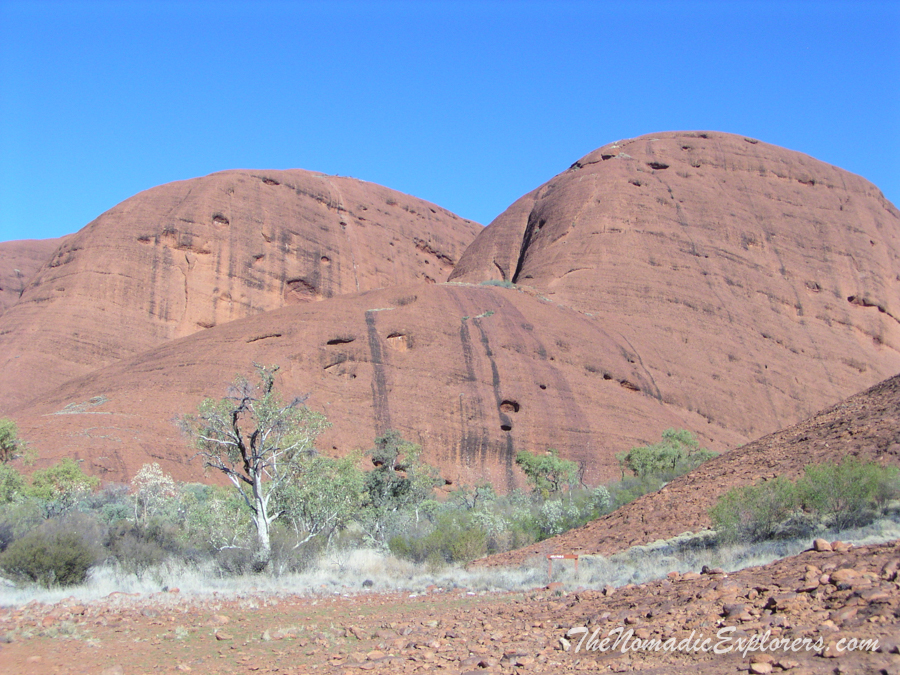 "Australia, Northern Territory, Alice Springs and Surrounds, День 7. Из Дарвина в Аделаиду. ""Красный Центр"". Трек ""Valley of the Winds"" в Kata Tjuta, ,"