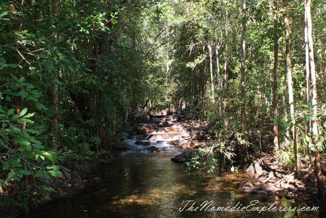 Australia, Northern Territory, Darwin and Surrounds, Litchfield National Park - Buley Rockhole and Florence Falls, ,
