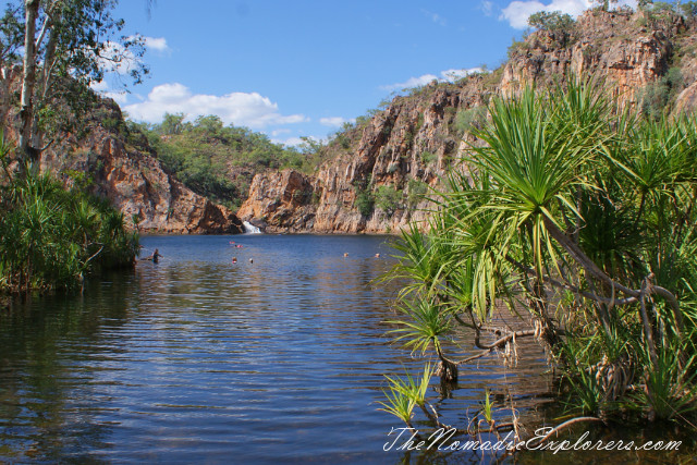 Australia, Northern Territory, Katherine and Surrounds, Nitmiluk National Park - Leliyn (Edith Falls), ,