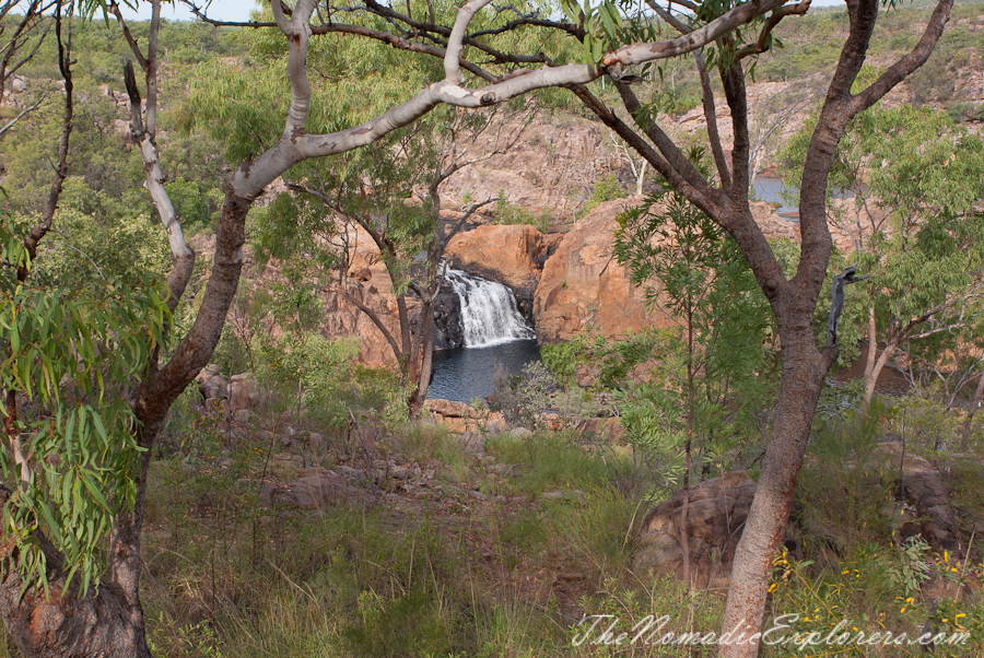 Australia, Northern Territory, Katherine and Surrounds, Из Дарвина в Аделаиду: День 1. Дарвин - Pine Creek - Edith Falls, ,