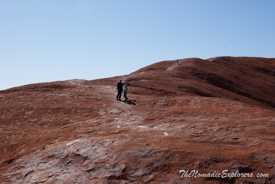 "Australia, Northern Territory, Uluru and Surrounds, Из Дарвина в Аделаиду: День 6. ""Красный Центр"". Подъем на Улуру, ,"