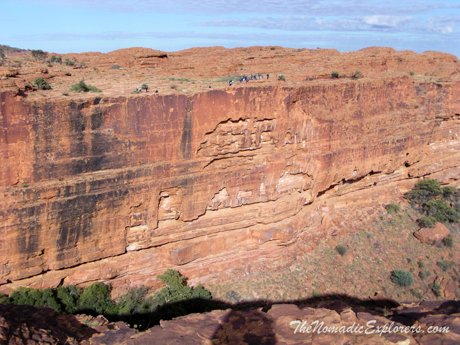 "Australia, Northern Territory, Uluru and Surrounds, День 8. Из Дарвина в Аделаиду: ""Красный Центр"". Watarrka National Park. Kings Canyon Rim Walk, ,"