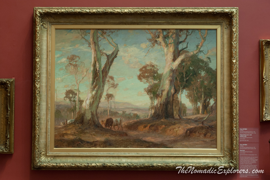 Australia, South Australia, Adelaide City, South Australian Museum, Art Gallery of South Australia, ,