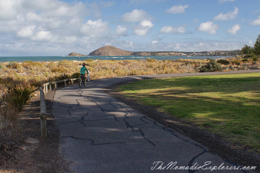 Australia, South Australia, Fleurieu Peninsula, Cruising the Encounter Bikeway: around Goolwa and Victor Harbor to the Bluff section, ,