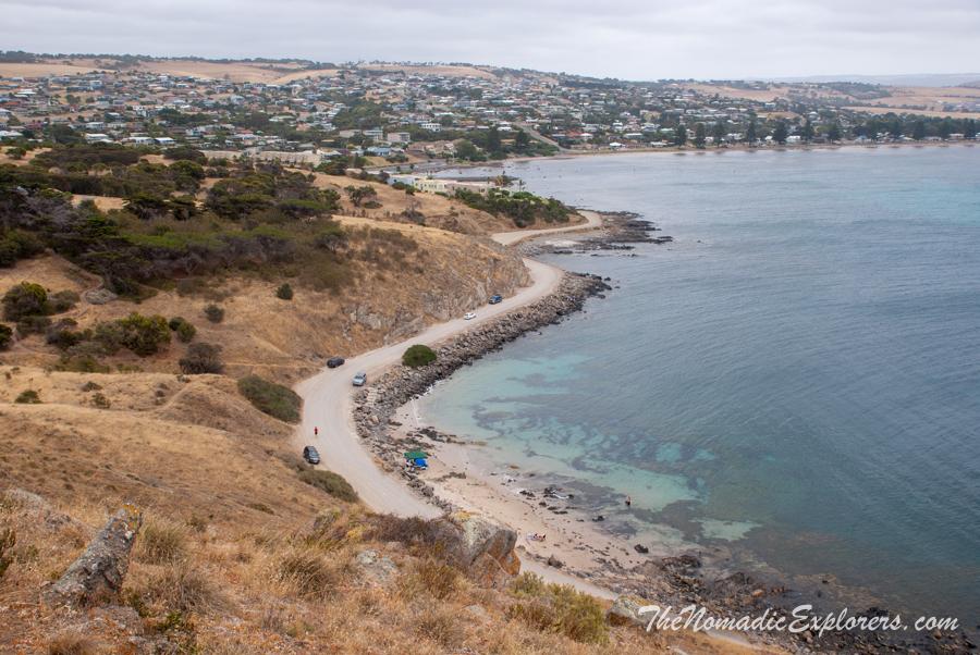 Australia, South Australia, Fleurieu Peninsula, Городок Victor Harbor. Историческая справка, прогулка по The Bluff и Granite Island, ,