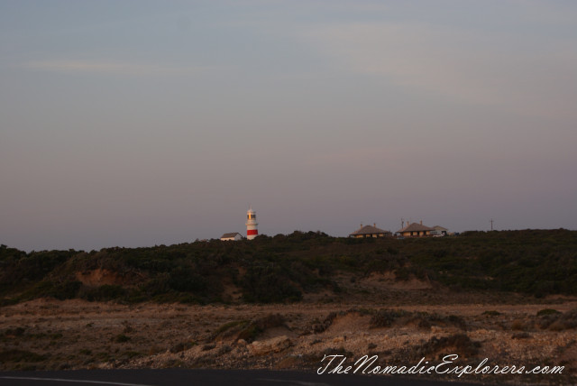Australia, South Australia, Limestone Coast, Port MacDonnell - самая южная точка Южной Австралии (South Australia's Southern Most Point), ,