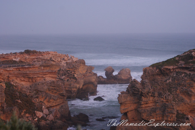 Australia, South Australia, Limestone Coast, Port MacDonnell - самая южная точка Южной Австралии (South Australia's Southern Most Point), ,