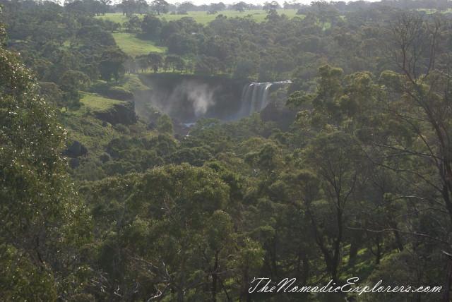 Australia, Victoria, Grampians, Водопады Wannon и Nigretta (Wannon Falls, Nigretta Falls), ,