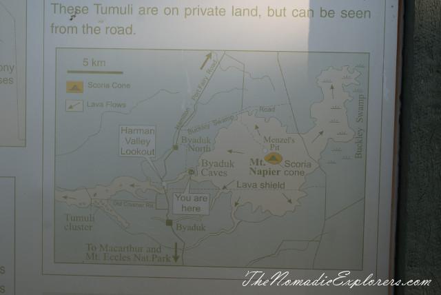 Australia, Victoria, Grampians, Tumuli - Lava Blisters, ,
