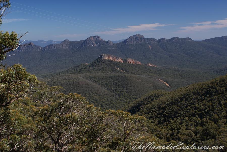 Australia, Victoria, Grampians, Grampians: Mount William, ,