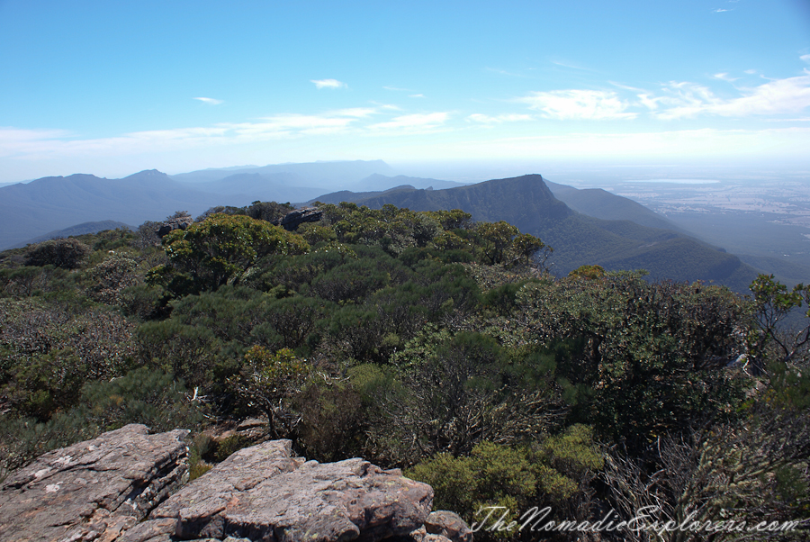 Australia, Victoria, Grampians, Grampians: Mount William, ,