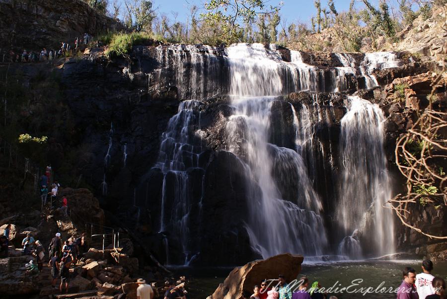 Australia, Victoria, Grampians, The Grampians: MacKenzie Falls, ,