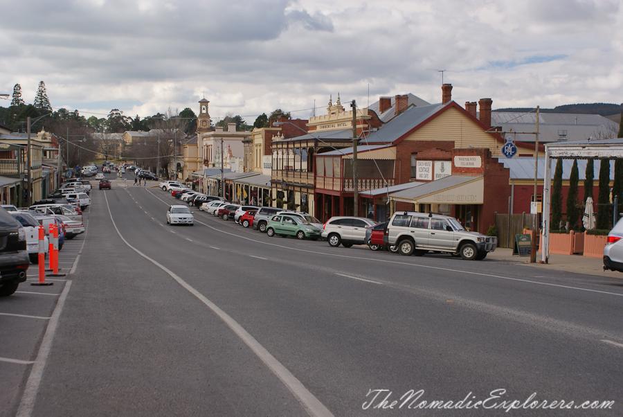Australia, Victoria, High Country, Зимний фестиваль Неда Келли в Beechworth, ,