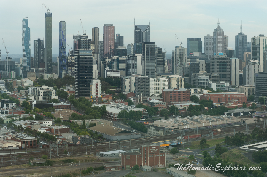 Australia, Victoria, Melbourne, Достопримечательности Мельбурна: колесо обозрения Melbourne Star Observation Wheel, ,