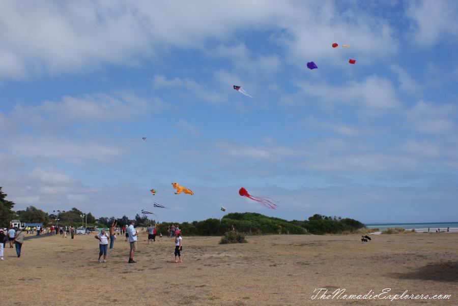 The Rosebud Kite Festival The Nomadic Explorers Australian Travel Blog