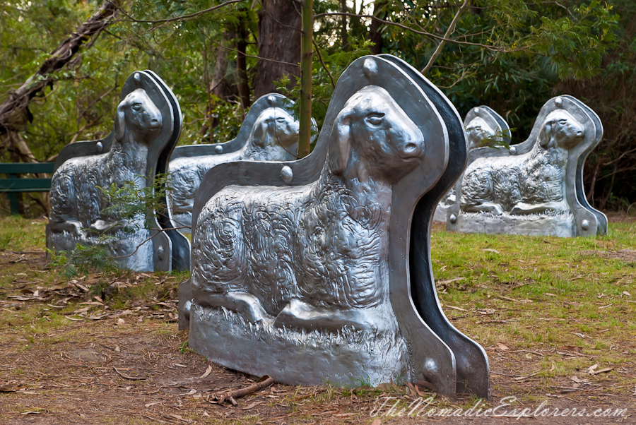 Australia, Victoria, Mornington Peninsula, McClelland Sculpture Park and Gallery - 3rd visit, ,