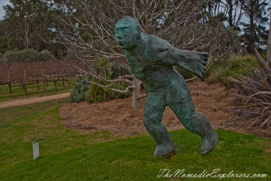 Australia, Victoria, Mornington Peninsula, The Montalto Sculpture Park, ,