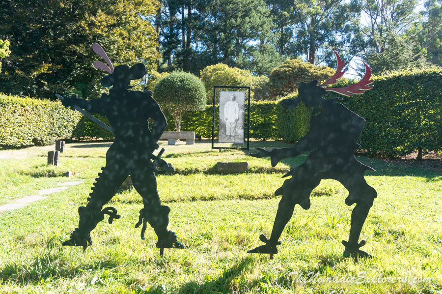 Australia, Victoria, Yarra Valley & Dandenong Ranges, Прогулка ранней осенью по Cloudehill Gardens, ,